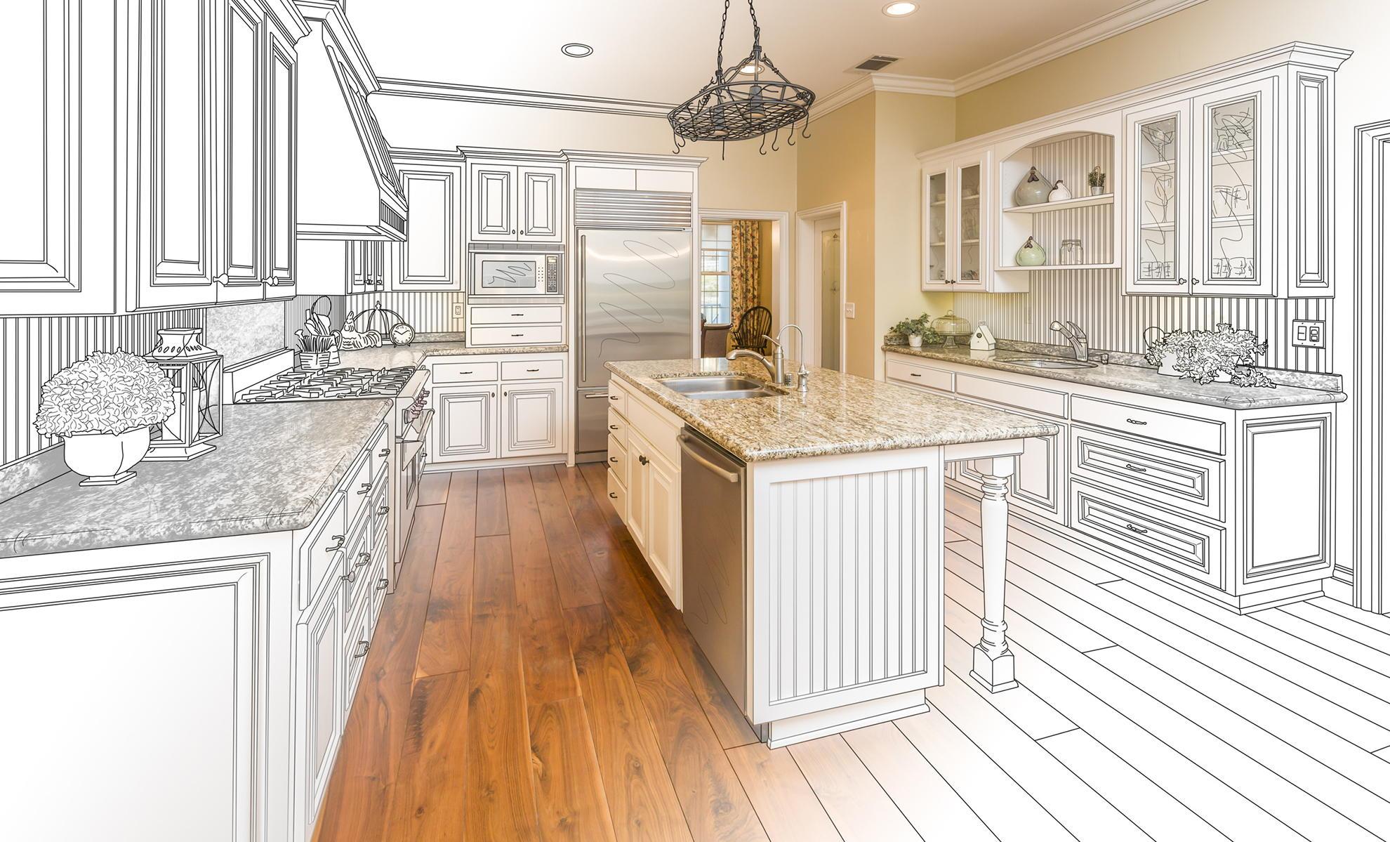 Оставить заявку на замер мебель кухня