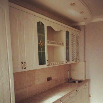 Кухня с МДФ фасадами изготовлена на заказ для наших дорогих клиентов! #классика #мебельвпетропавловске #петропавловск #петро