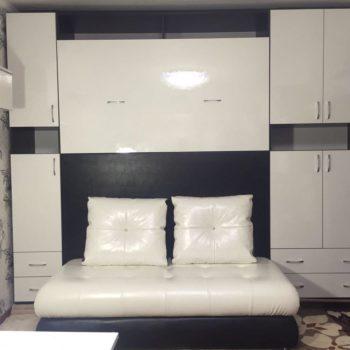 Очередной заказ выполнен! Шкаф-кровать с диванчиком. На заказ любые цвета и комплектация!