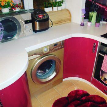 Экономия места на кухне !!! Разработаем кухню специально для Вас! #cittadella #петропавловск #мебельдлядома #кухня