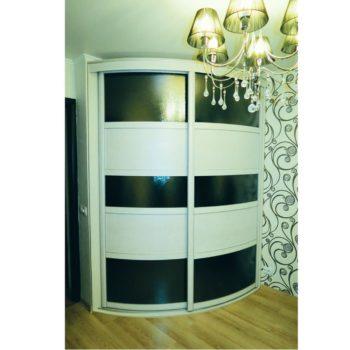 #спальня #радиусныйшкаф #гардероб #мебельназаказ