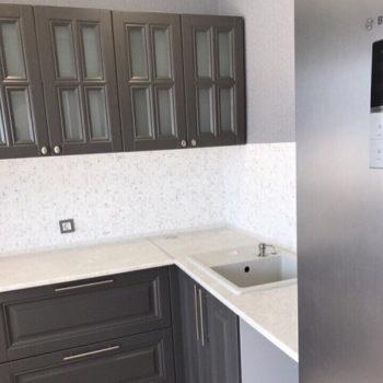 навесные шкафы кухни Джорджия вид сбоку