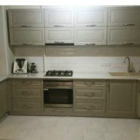 Кухонный гарнитур Серый кардинал