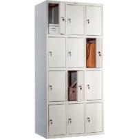 Шкаф для раздевалки (локер) ПРАКТИК LS-34 в Петропавловске