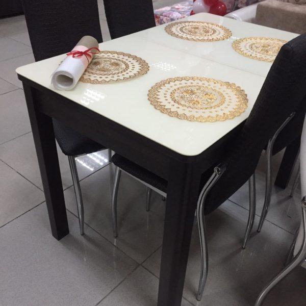 Чёрный столик Сакраменто в Петропавловске