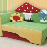 Детский диван Смурфик в Петропавловске