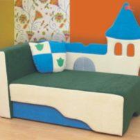 Детский диван Замок в Петропавловске