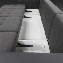Диван с 2-мя креслами трансформер Мэйсон в Петропавловске ящики