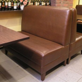 Комплект мебели 2 дивана и стол Базис для общественных заведений в Петропавловске
