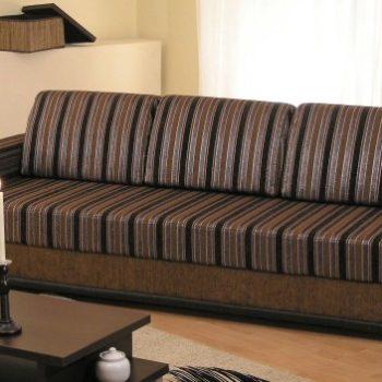 Коричневый диван Северная Каролина в Петропавловске