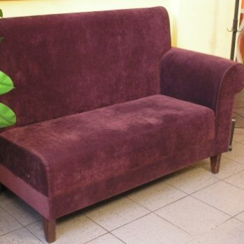 Мебель для кафе Оптион в Петропавловске фиолетовый диван