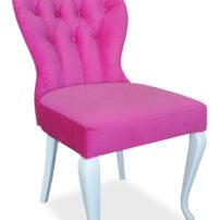 Розовый стул Sonata-Pro Eliza в Петропавловске вид сбоку