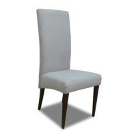 Серый стул с высокой спинкой Sonata-Pro Kristin в Петропавловске