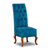 Синий стул с высокой спинкой Sonata-Pro Laky в Петропавловске