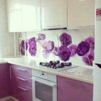 #угловаяухня#кухонныйгарнитур#мебельвпетропавловске #цветочныйинтерьер