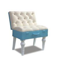 Бело-голубой стул Sonata-Pro Thompson в Петропавловске