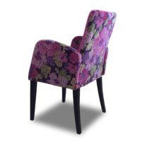 Розовое кресло Sonata-Pro Sarmasik Vip в Петропавловске вид сзади