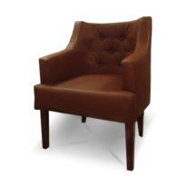 Тёмно-коричневое кресло Sonata-Pro Giuseppe в Петропавловске