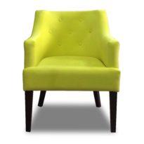 Зелёное кресло Sonata-Pro Giuseppe в Петропавловске вид прямо