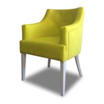 Зелёное кресло Sonata-Pro Giuseppe в Петропавловске вид сбоку