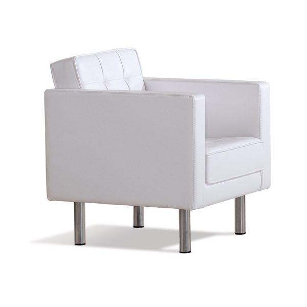 Белое кресло Sonata-Pro Luxor в Петропавловске