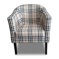 Бежевое кресло Sonata-Pro Lal Group в Петропавловске вид прямо