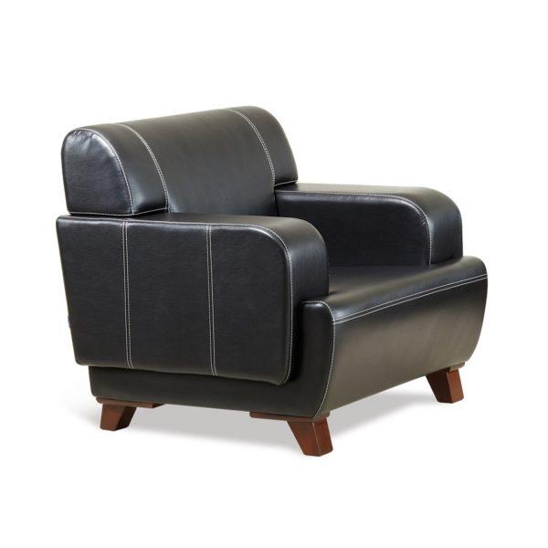 Чёрное кресло Sonata-Pro Casablanca в Петропавловске