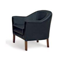 Чёрное кресло Sonata-Pro Lal Group в Петропавловске
