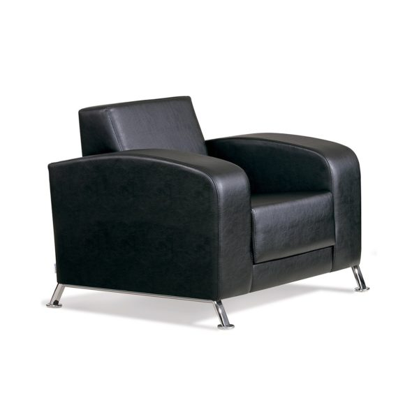 Чёрное кресло Sonata-Pro Mondi в Петропавловске