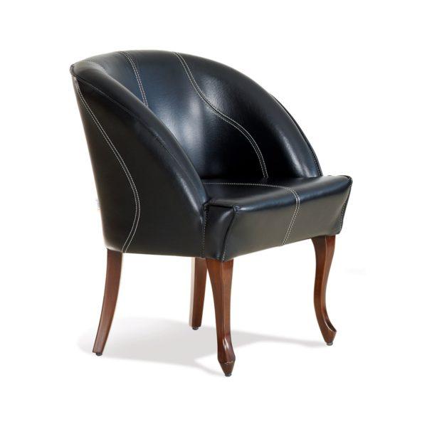 Чёрное кресло Sonata-Pro Papatya в Петропавловске