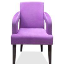 Фиолетовое кресло Sonata-Pro Amanda в Петропавловске вид прямо