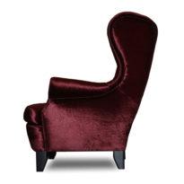 Фиолетовое кресло Sonata-Pro Fedele в Петропавловске вид сбоку