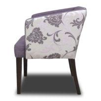 Фиолетовое кресло Sonata-Pro Mola в Петропавловске вид сбоку