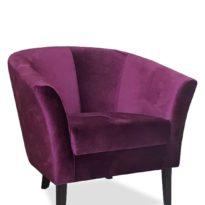 Фиолетовое кресло Sonata-Pro Yonca в Петропавловске