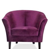 Фиолетовое кресло Sonata-Pro Yonca в Петропавловске вид прямо