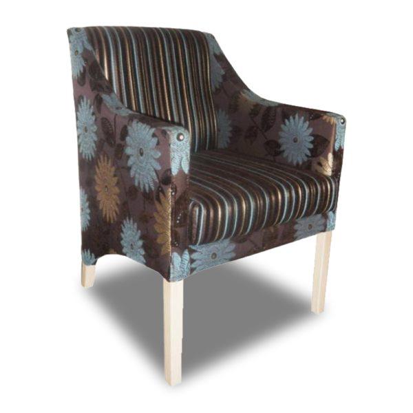 Коричнево-голубое кресло Sonata-Pro Mary в Петропавловске