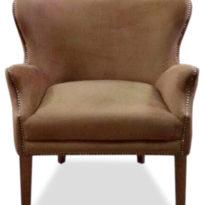 Коричневое кресло Sonata-Pro Dixon в Петропавловске вид прямо
