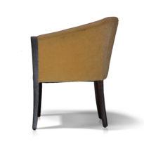 Коричневое кресло Sonata-Pro Effe в Петропавловске вид сбоку