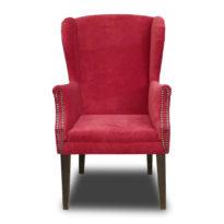 Красное кресло Amante classic в Петропавловске вид прямо