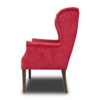 Красное кресло Amante classic в Петропавловске вид сбоку