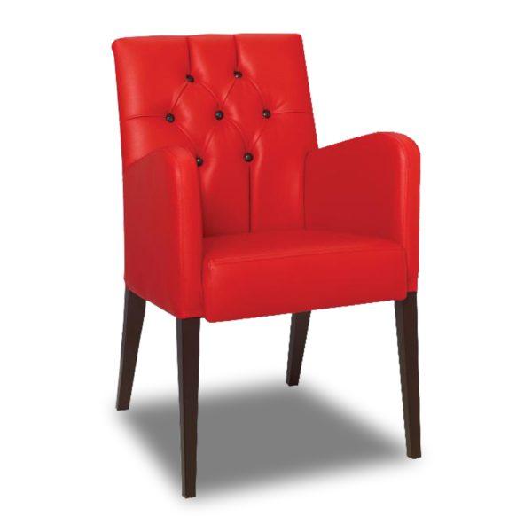 Красное кресло Sonata-Pro Adele в Петропавловске