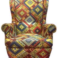Разноцветное кресло Sonata-Pro Fedele в Петропавловске вид прямо