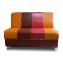 Разноцветный диван Sonata-Pro Pronto в Петропавловске вид прямо