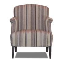 Серое кресло Sonata-Pro Vinchenzo в Петропавловске вид прямо