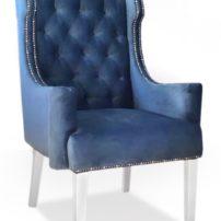 Синее кресло Sonata-Pro Abram в Петропавловске