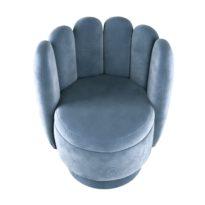 Синее кресло Sonata-Pro Gaston в Петропавловске