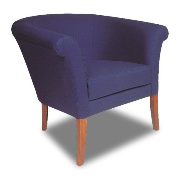 Синее кресло Sonata-Pro London в Петропавловске