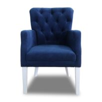 Синее кресло Sonata-Pro Sultan Kapitonelli в Петропавловске вид прямо