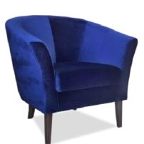 Синее кресло Sonata-Pro Yonca в Петропавловске