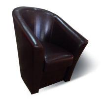 Тёмно-коричневое кресло Sonata-Pro Alba в Петропавловске